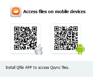 Setup Mobile device for Qsync